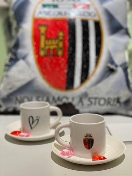 Coppia tazzine caffe' + piattino