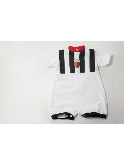 BABY ASCOLI FOOTBALL ROMPER