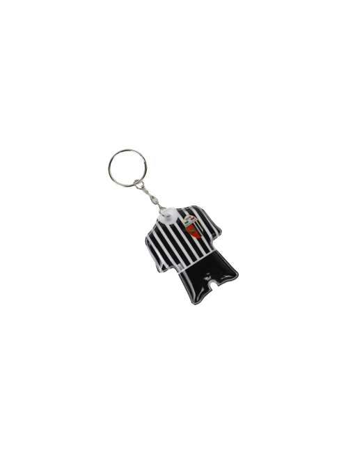 Keychain in the shape of a mesh with light