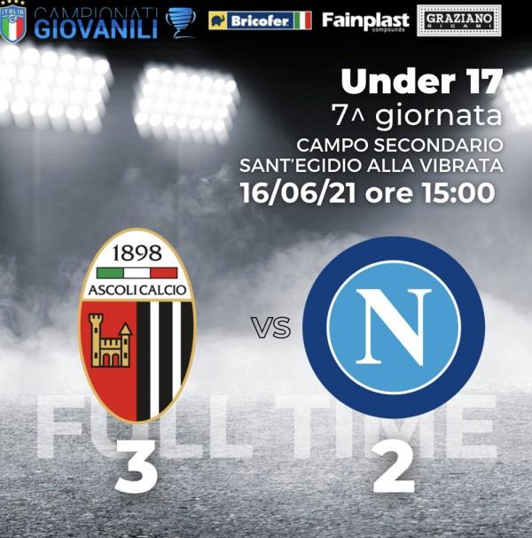 Under 17 | Ascoli 3 Napoli 2