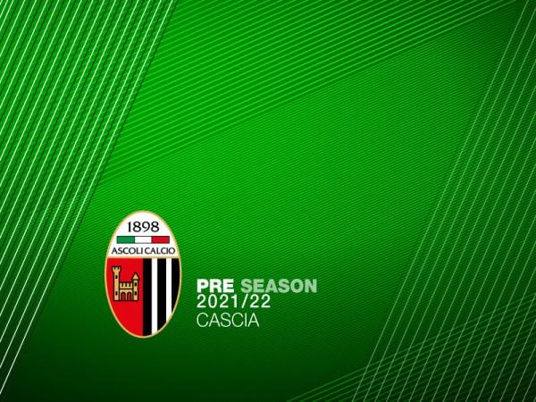 s.s. 2021/22: a Cascia il ritiro precampionato dell'Ascoli Calcio
