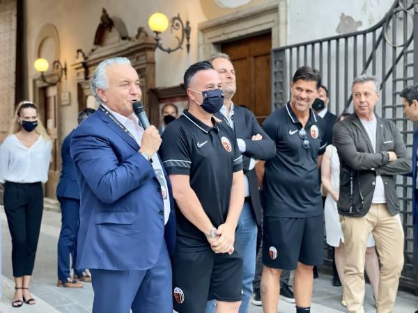 """Patron Pulcinelli: """"Dionisi ha leadership da campione. Lupo-Sottil coppia fantastica"""""""