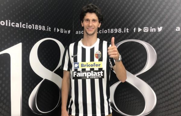 """Diego Fabbrini dopo la firma: """"Ascoli: occasione colta al volo"""""""