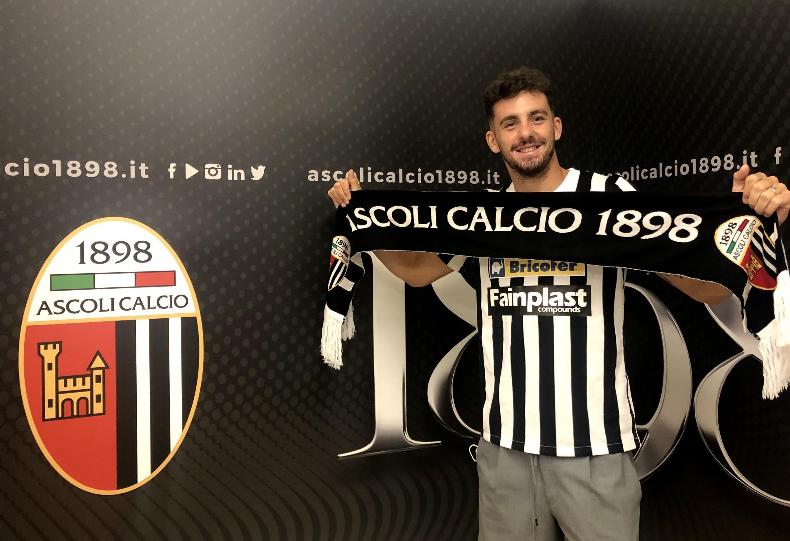"Caligara: ""Ascoli è l'unica piazza in cui avrei voluto giocare""."