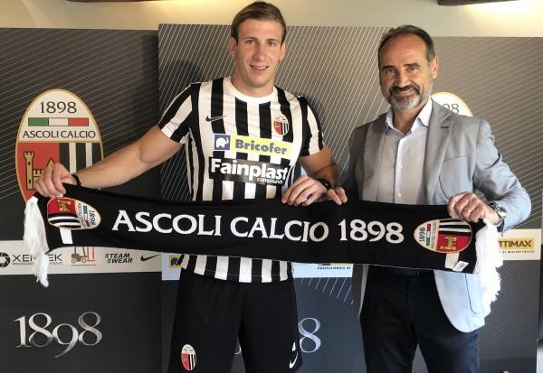 """Baschirotto: """"Ascoli ottima occasione per la mia carriera"""""""