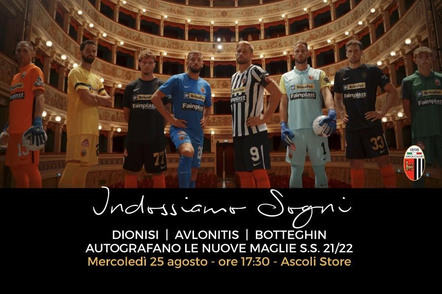INDOSSIAMO SOGNI: evento allo store il 25 agosto con Dionisi, Avlonitis e Botteghin.