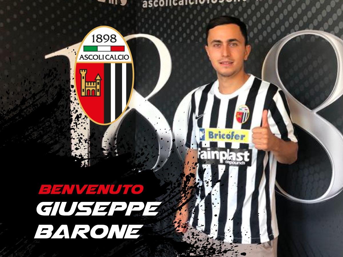 #Calciomercato: accordo annuale per Giuseppe Alessandro Barone.
