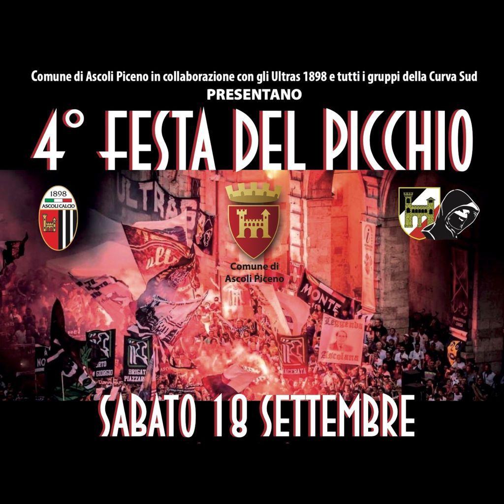 4^ festa del Picchio sabato in Piazza Arringo con la prima squadra.