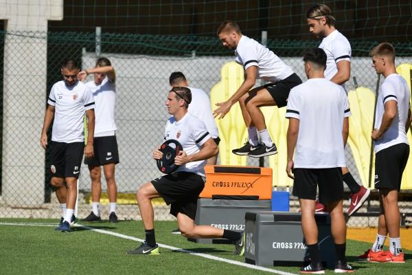 Notiziario: stamane la ripresa dei lavori in vista del match di sabato col Como al Sinigaglia.