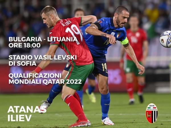 Qualificazioni Mondiali 2022: Iliev in campo 94' in Bulgaria-Lituania