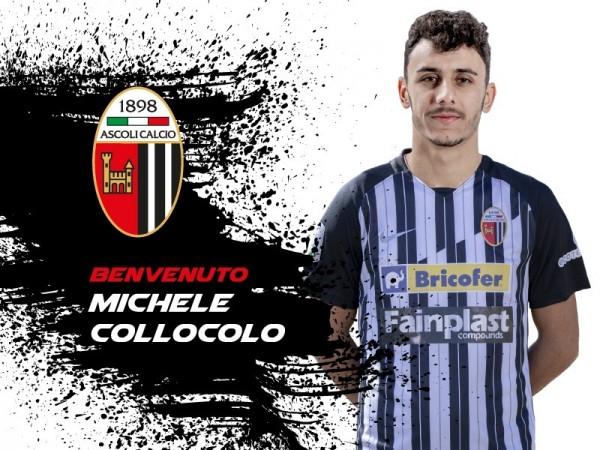 """Michele Collocolo: """"Onorato di debuttare in B con l'Ascoli"""""""