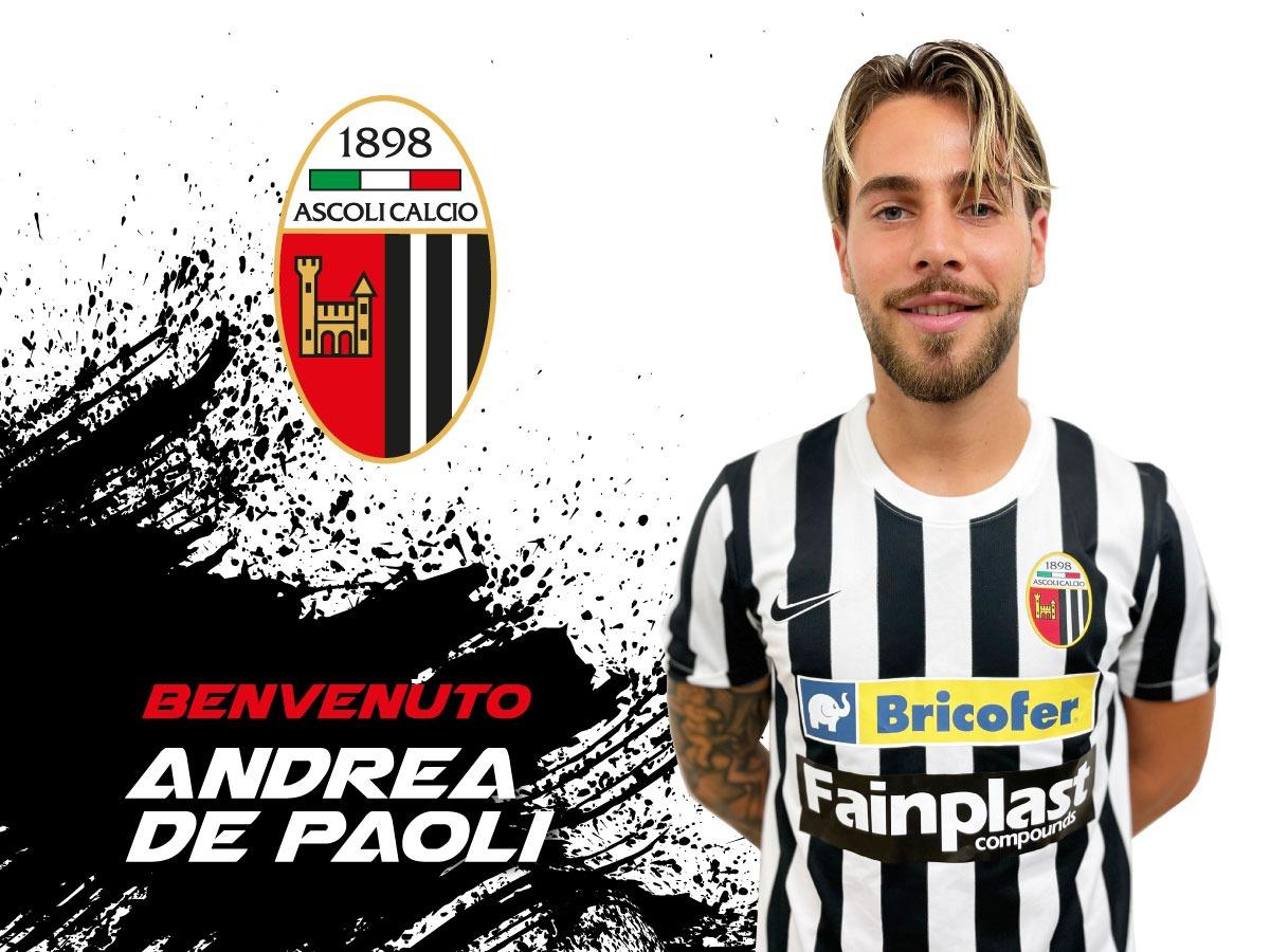 #Calciomercato asse Ascoli-Monopoli: D'Agostino in Puglia, De Paoli in bianconero.