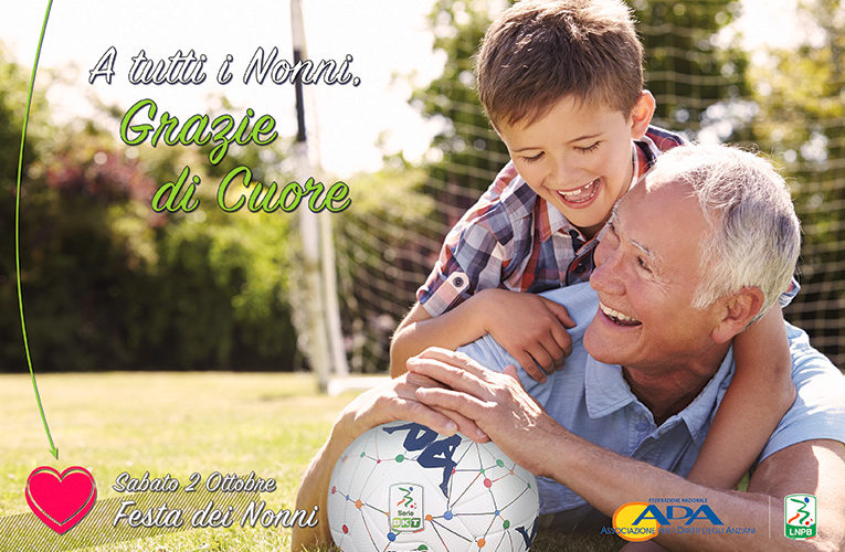 7^ giornata Serie BKT: Ada e Lega Serie B insieme per festeggiare i nonni