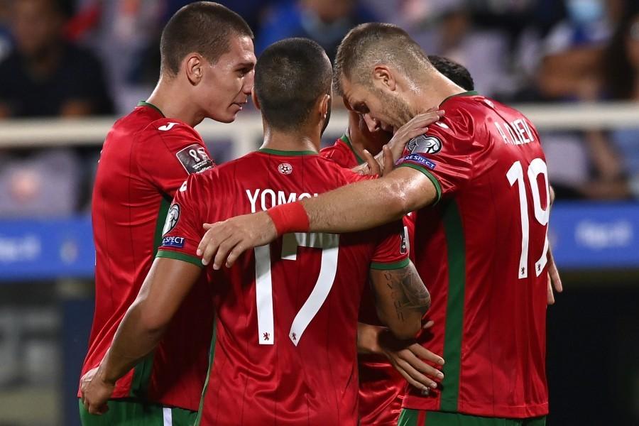 Qualificazioni Mondiali 2022 Italia-Bulgaria: di Atanas Iliev il gol dell'1-1