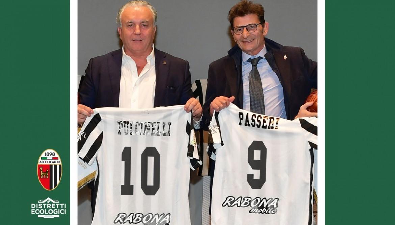 Distretti Ecologici acquisisce il 20% dell'Ascoli Calcio.